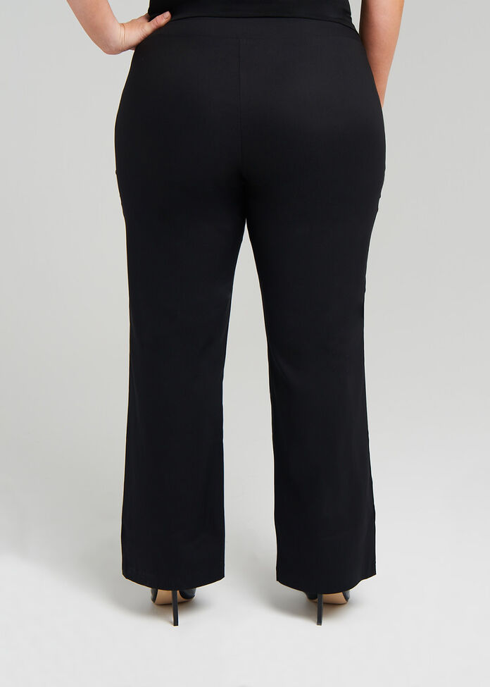Petite Editorial Straight Pant, , hi-res