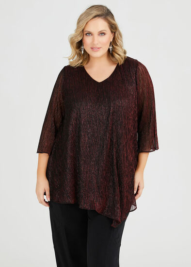 Roulette Shimmer Top