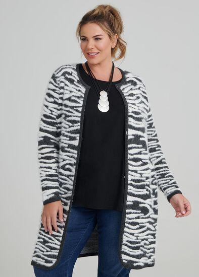Zebra Instarisa Cardigan
