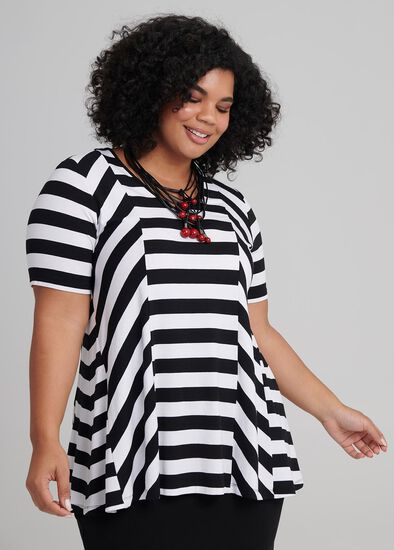 Elation Stripe Top
