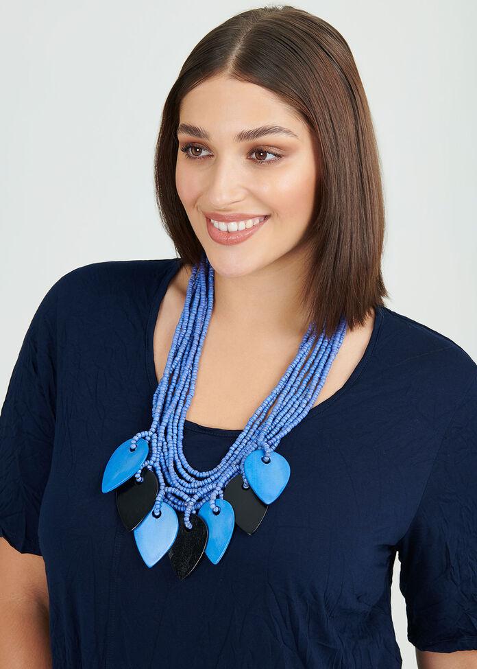 Got The Blues Necklace, , hi-res
