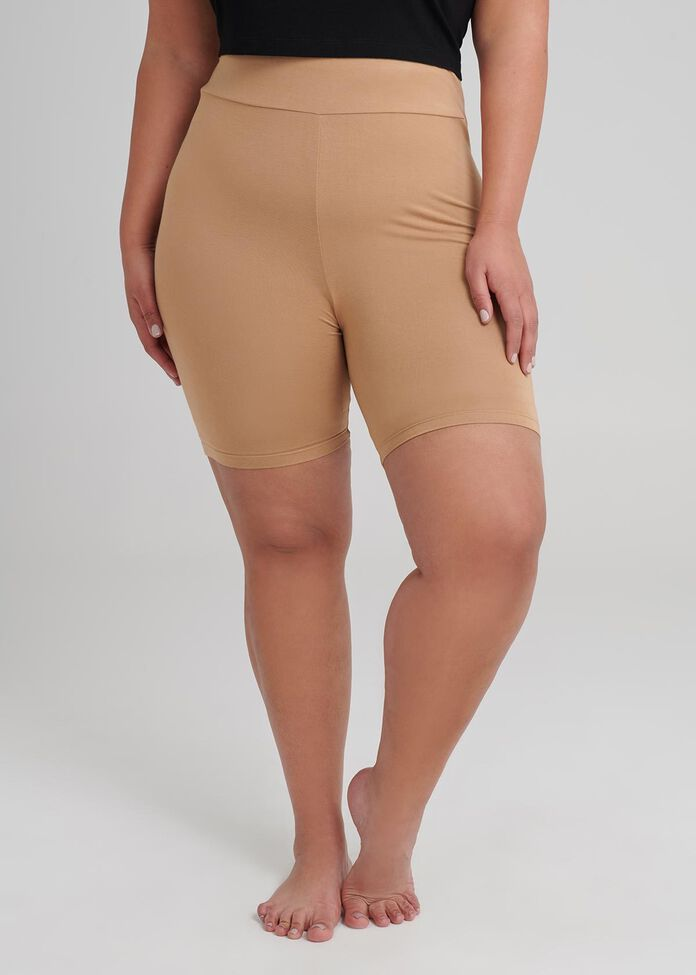 Bamboo Anti Chafe Crop Short, , hi-res