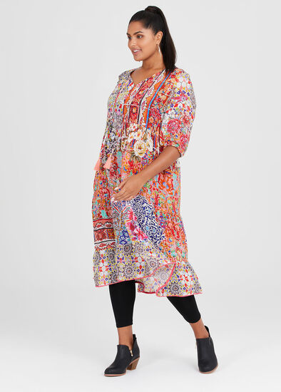 Natural Bohemian Dress
