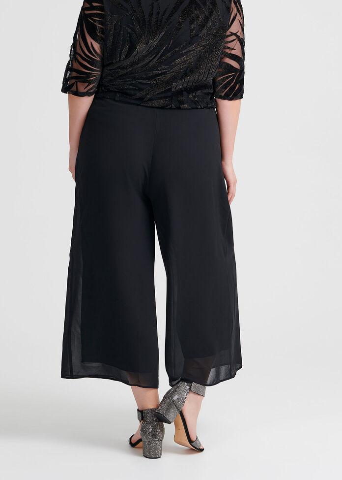 Glamour Evening Crop Pant, , hi-res