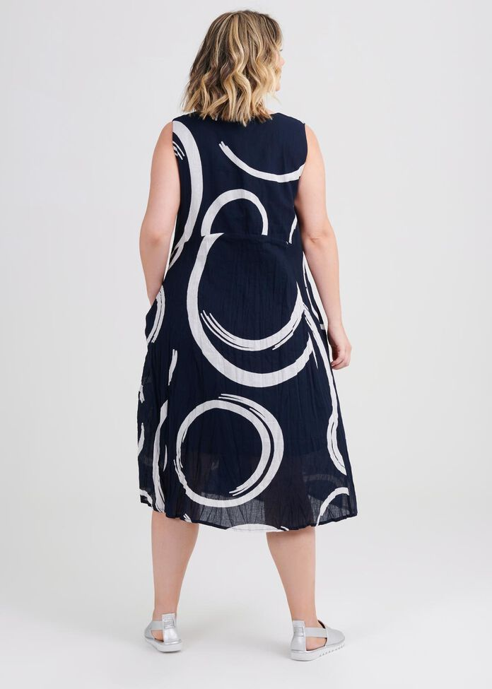 Cotton Swirl Dress, , hi-res