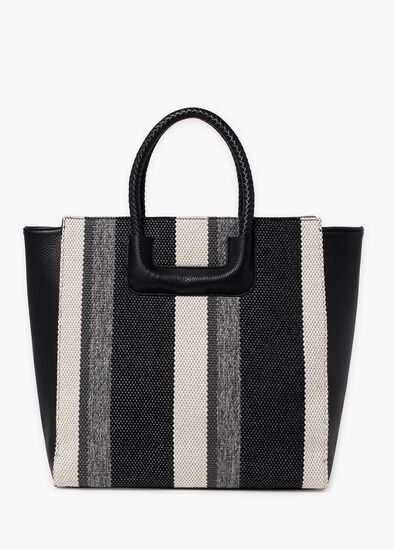 Sassy Striped Tote
