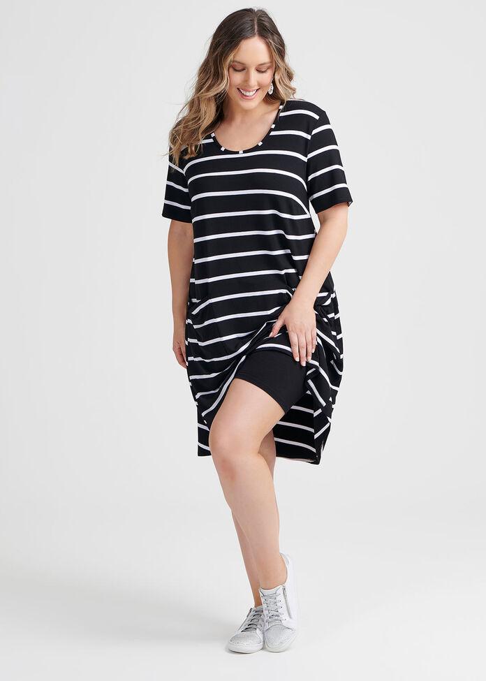 Beaucoup Stripe Dress, , hi-res