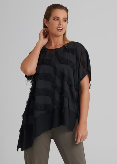 Inas Fringed Top