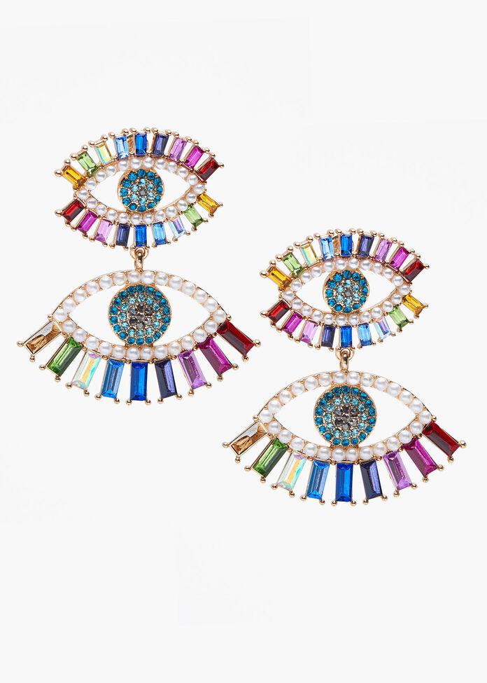 Eye See You Earrings, , hi-res