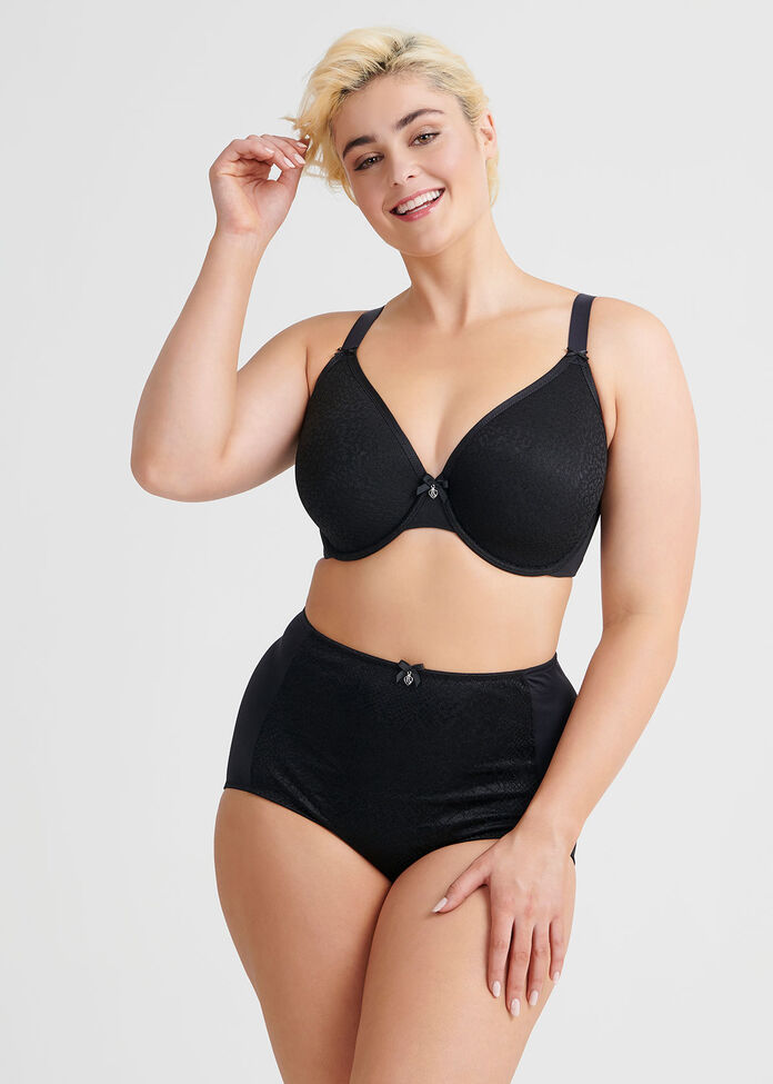 Lightweight Spacer Bra sizes 20-24, , hi-res
