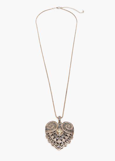 Aleah Heart Necklace