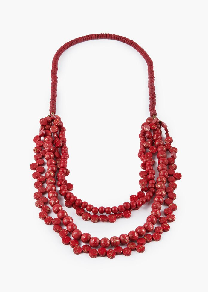 Lady In Red Necklace, , hi-res