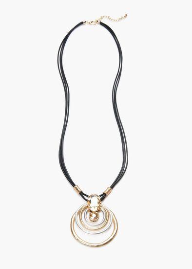 Luxe Hoop Necklace