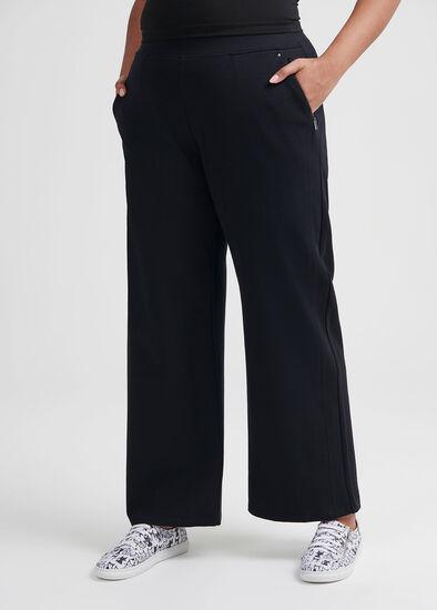 Coco Stitch Wide Leg Pant