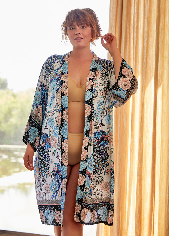 Natural Paradise Robe, , hi-res