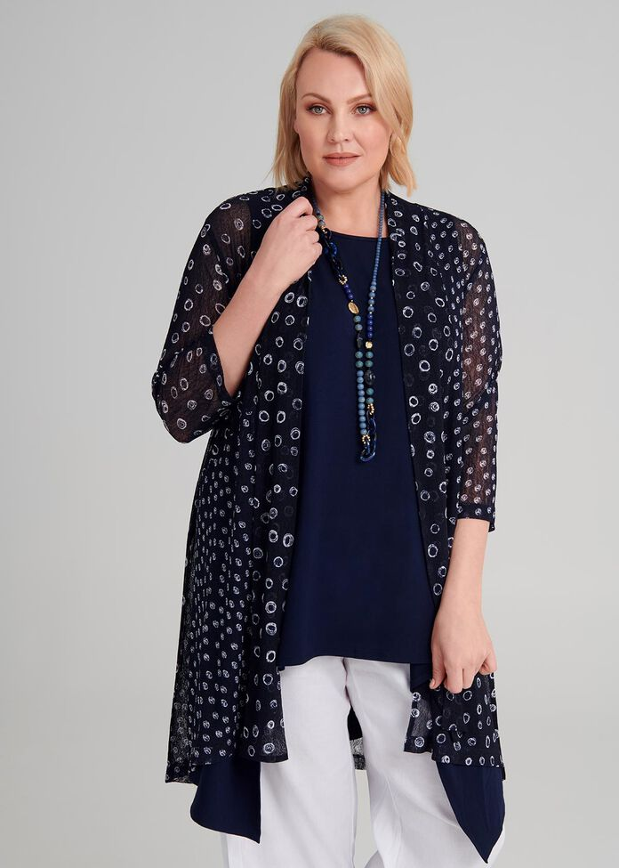 Spot The Dot Cardi, , hi-res