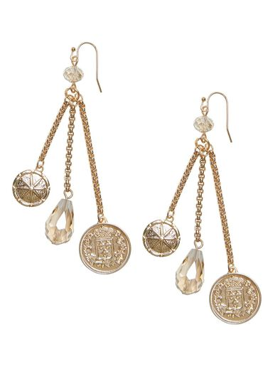 Coin A Phrase Earrings