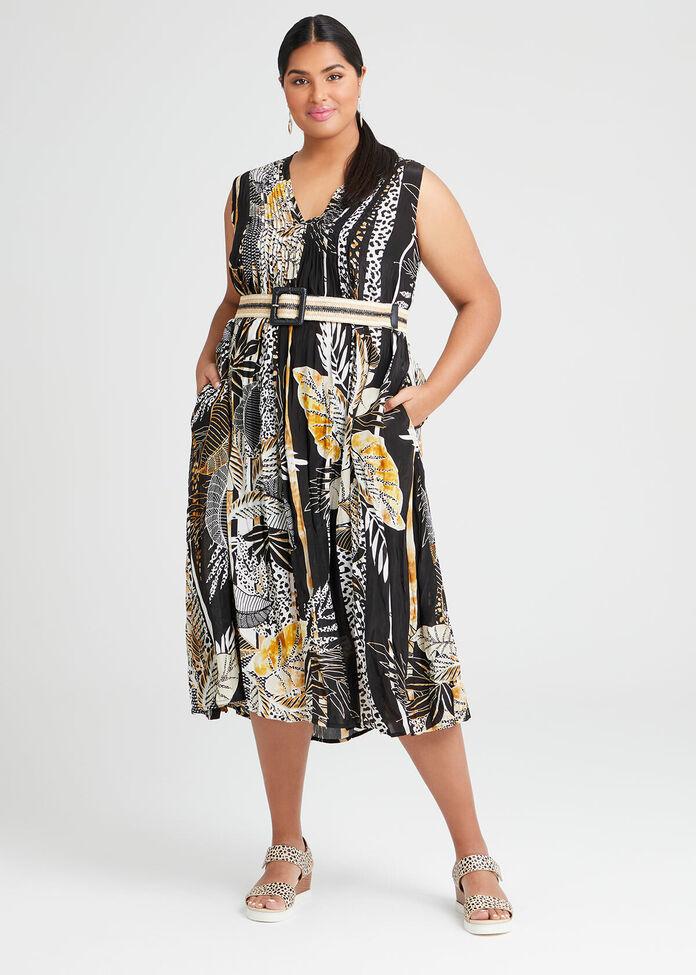 Natural Great Escape Maxi Dress, , hi-res