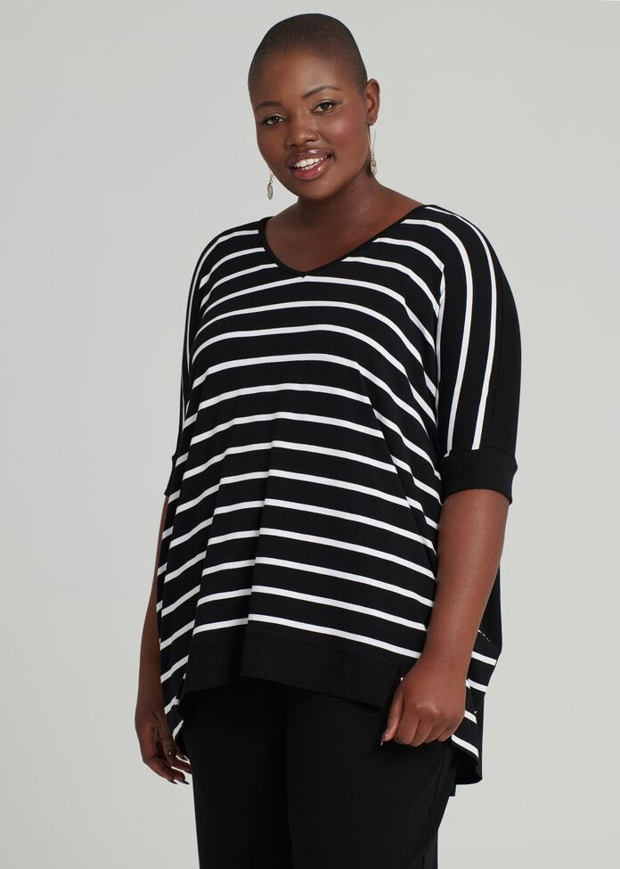 Out & About Stripe Top, , hi-res