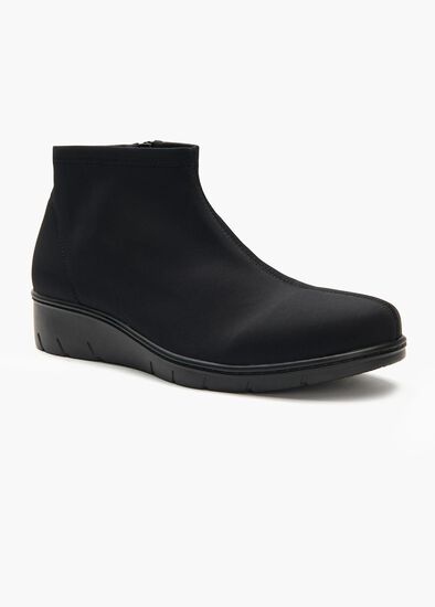 Ebony Stretch Ankle Boot