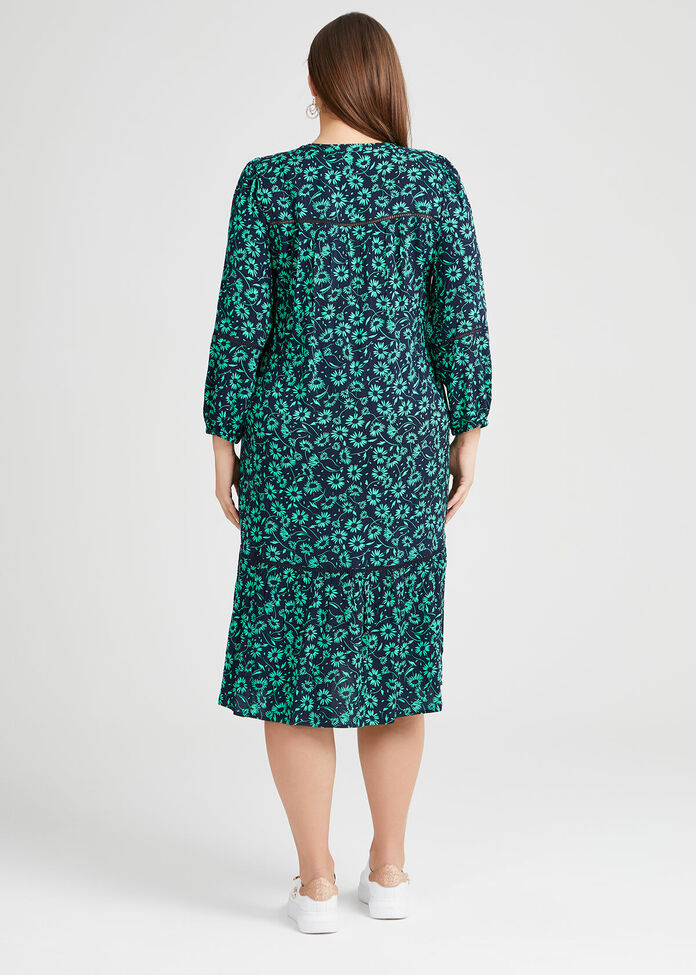 Natural Daisy Dress, , hi-res