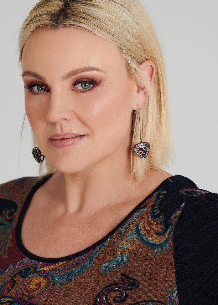 Olivine Earrings, , hi-res
