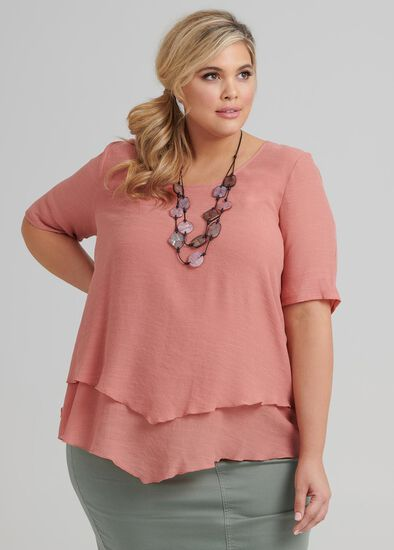 To The Point Layered Top