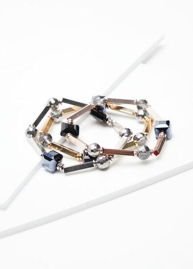 Metal Bracelet Set