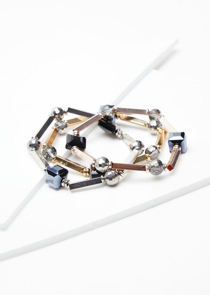 Metal Bracelet Set, , hi-res