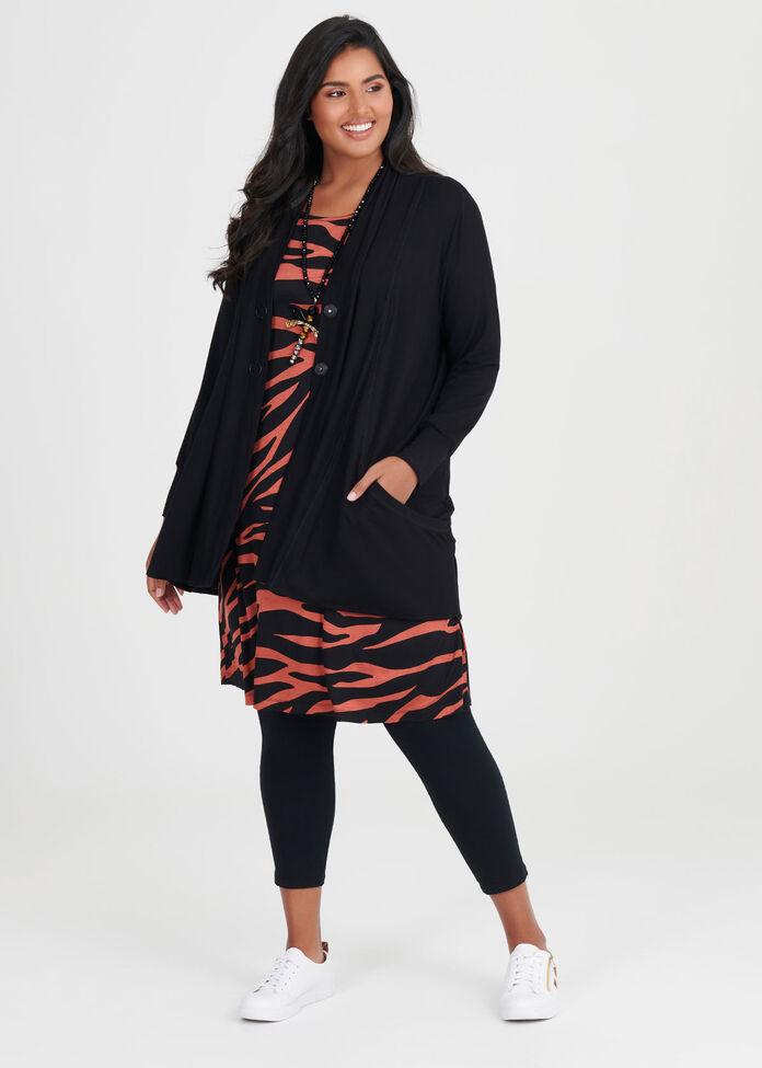 Bamboo Zebra Dress, , hi-res
