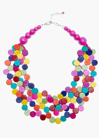 Brightly Beaded Necklace