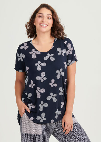Bamboo Butterfly Pj Top