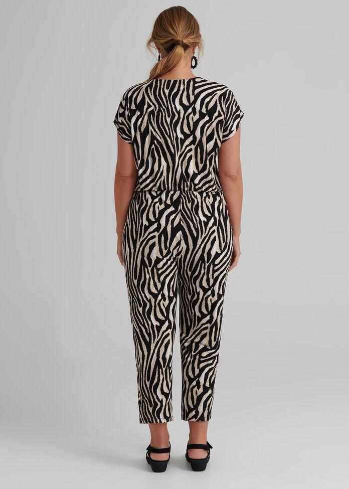 Zebra Bamboo Jumpsuit, , hi-res