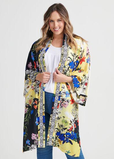 Natural Savannah Kimono