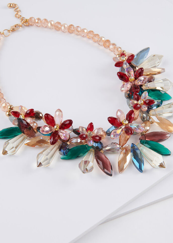 Crystal Garden Necklace, , hi-res