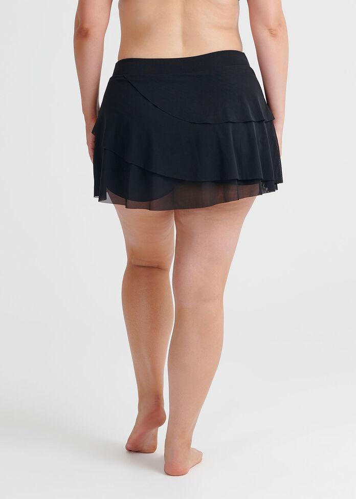 Mesh Skirt Brief, , hi-res