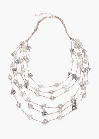Trillion Crystal Necklace