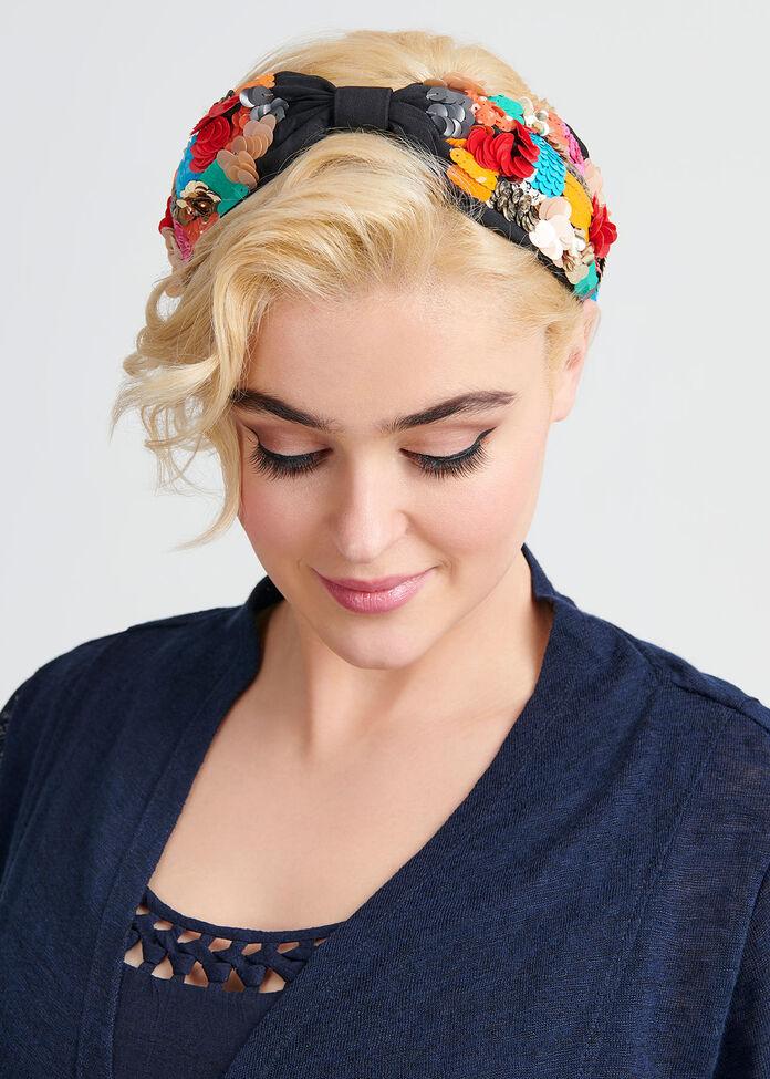 Checker Headband, , hi-res