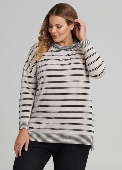 Stripe Lounge Top