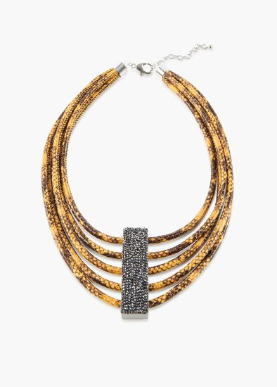 Medusa Crystal Necklace