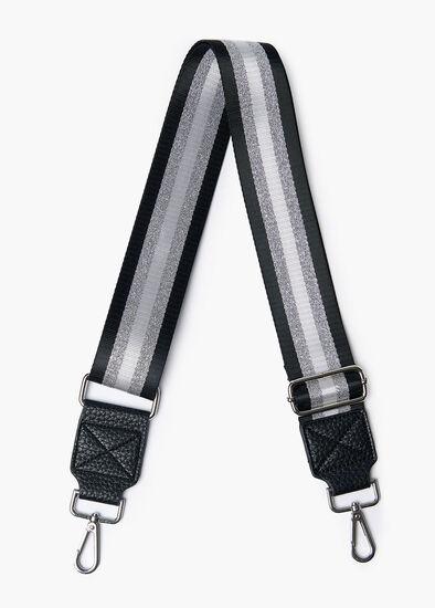 Silver Stripe Strap
