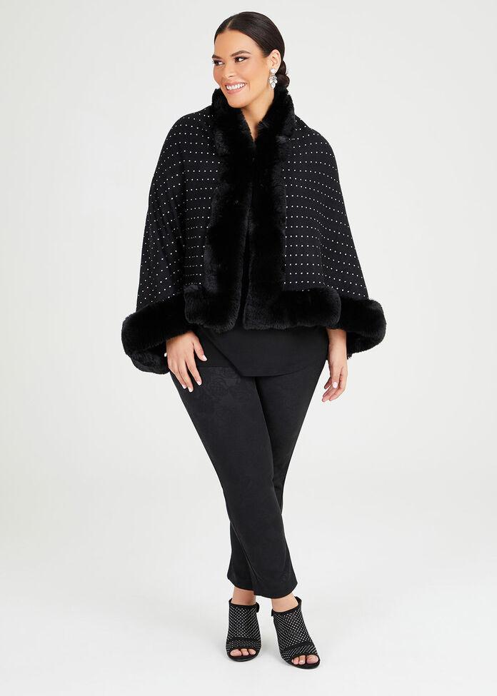Wham Glam Fur Cape, , hi-res