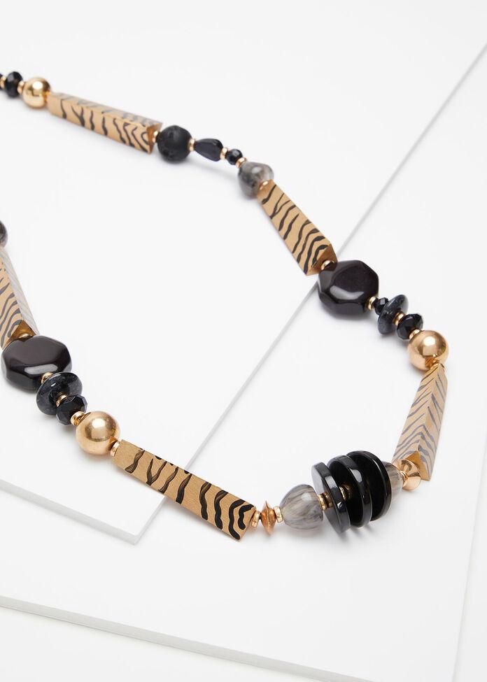 Natural Pattern Necklace, , hi-res