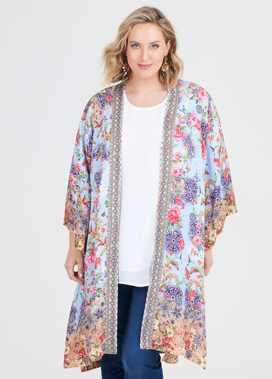 Natural Botanical Kimono