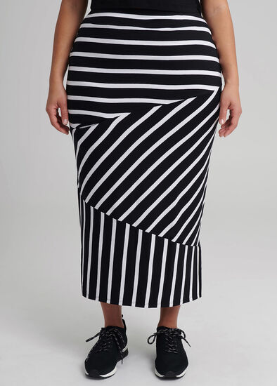 Stripey Days Skirt