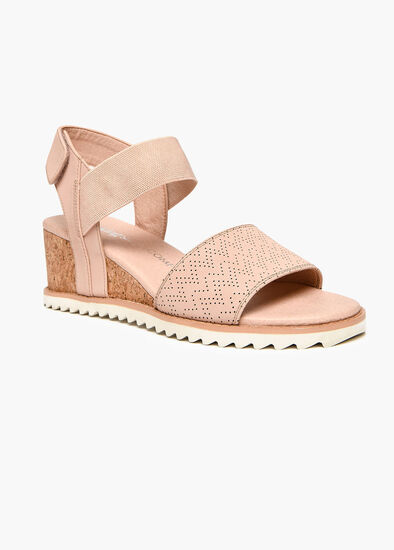 Coco Cork Detail Wedge