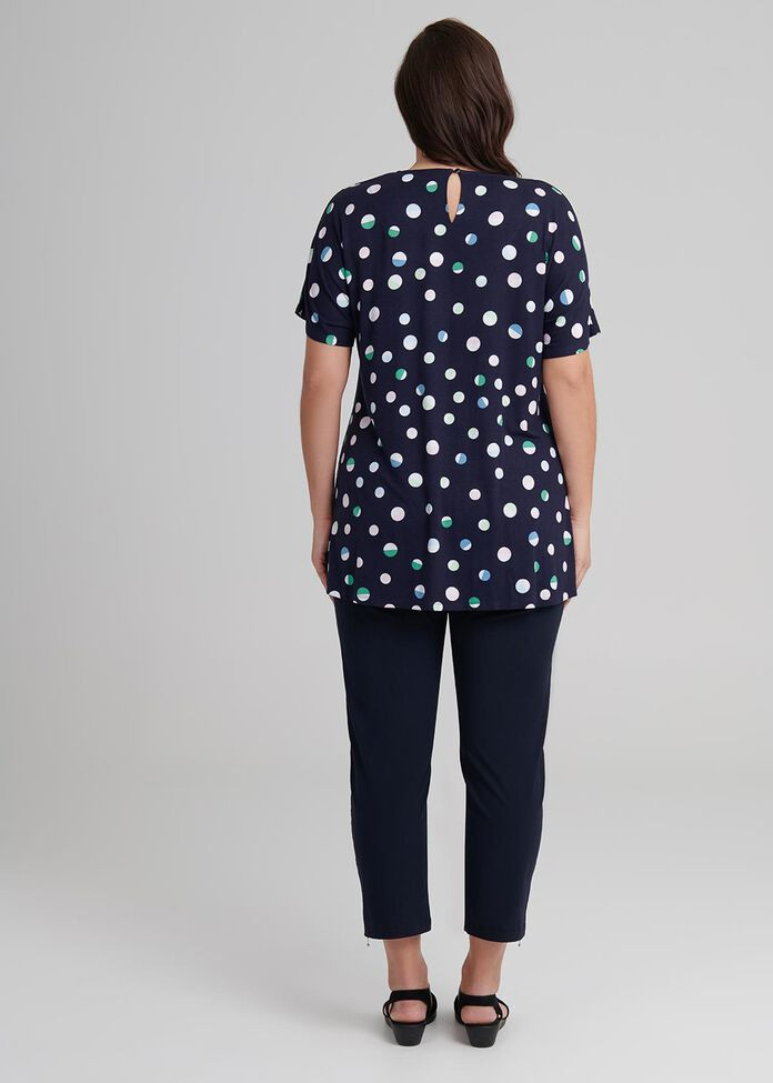 Multi Spots Bamboo Top, , hi-res