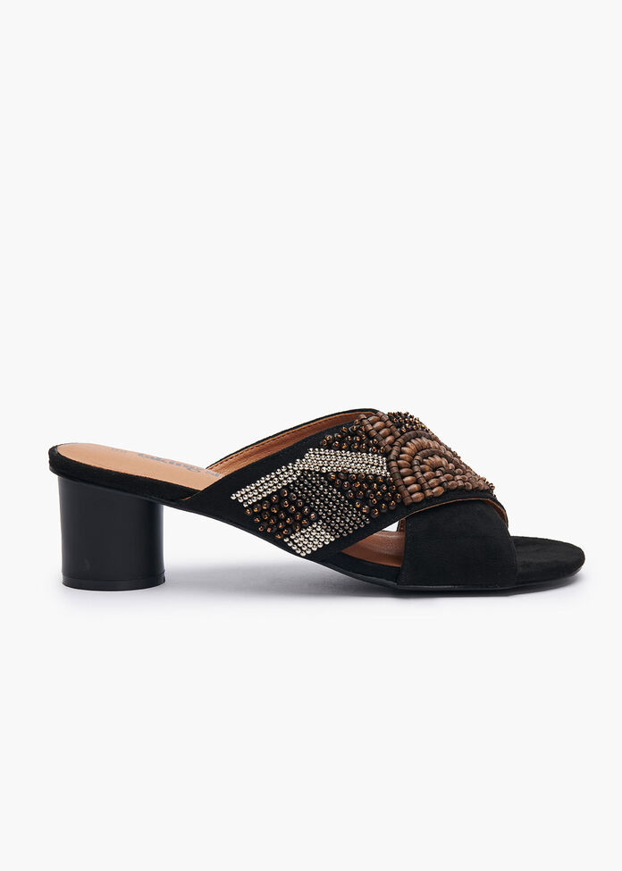 Beaded Beauty Heel, , hi-res