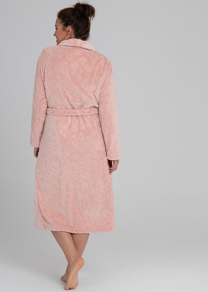 Fluffy Spot Dressing Gown, , hi-res