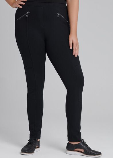 Tall Coco Luxe Zip Legging